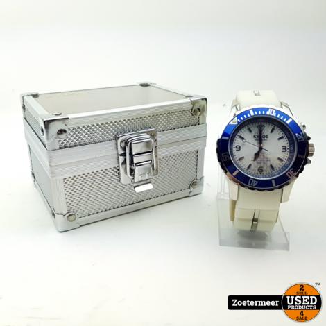 Kybo Giant mariner 48mm white blue horloge