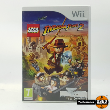 Lego Indiana Jones 2 Wii