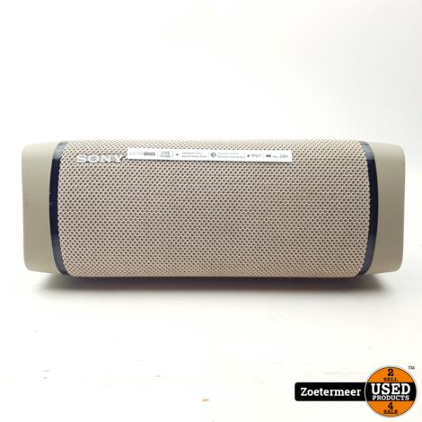 Sony SRS-XB33 Creme Speaker