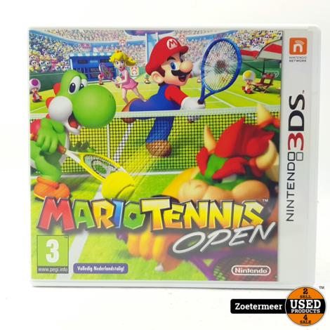 Mario Tennis Open 3DS