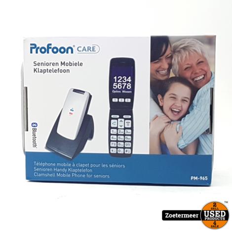 Profoon Big Button klaptelefoon GSM PM-965 NIEUW