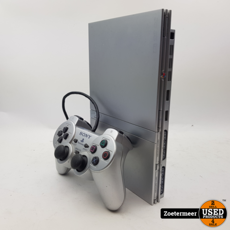 Sony Playstation 2 Slim Silver