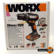 Worx Worx Accuboormachine 20V NIEUW