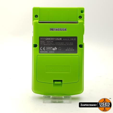 Gameboy Color Green (NIEUWSTAAT)