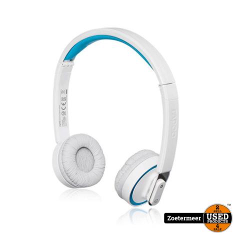 Rapoo H8030 Wireless stereo Headset Wit NIEUW