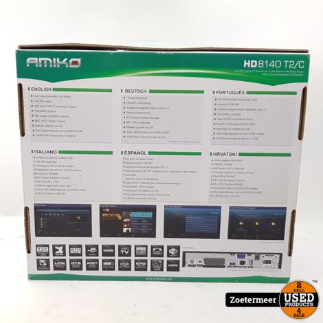 AMIKO HD8140 FULL-HD Mediaspeler