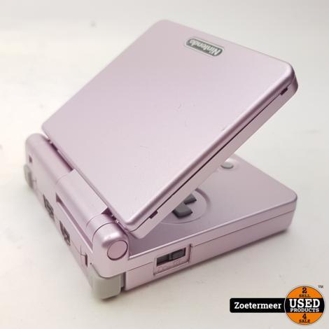 Nintendo GameBoy Advance SP roze AGS001
