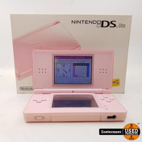Nintendo DS Lite Roze (met doos)