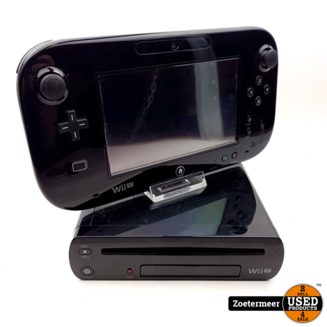 Nintendo Wii U zwart 32GB