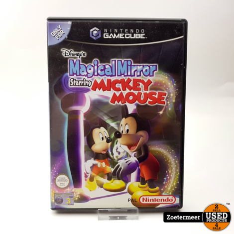 Magical Mirror Starring Mickey Mouse Gamecube