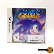 Sonic Chronicles DS Spel