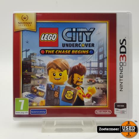 Lego City Undercover 3DS spel