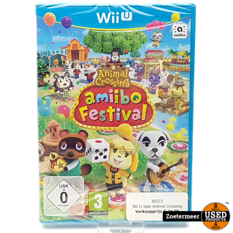 Animal Crossing Amiibo Festival Wii U (NIEUW)