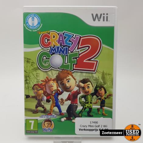 Crazy Mini Golf 2 Wii