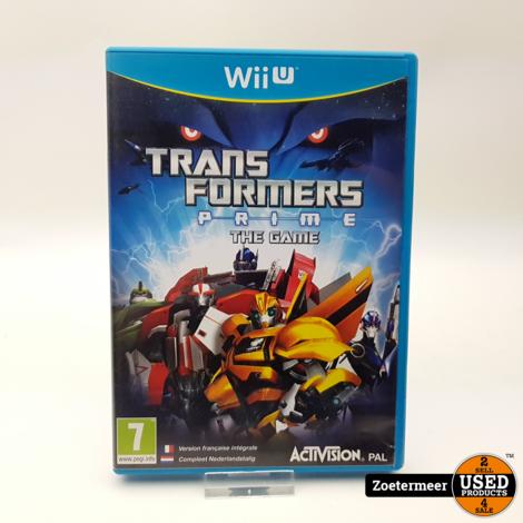 Transformers Prime The Game Wii U
