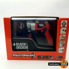 Black en Decker Pivot Driver 4.8V