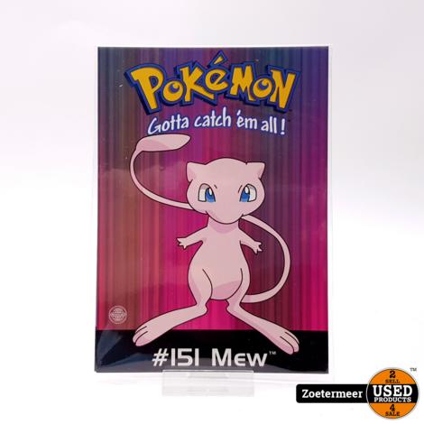 Pokémon originele verzamelkaarten (Mew, Charmeleon, Charizard, Pikachu)