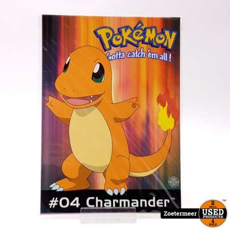 Pokémon originele verzamelkaarten (Charmander, Wartotle, Poliwhirl)