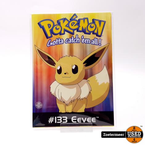 Pokémon originele verzamelkaarten (gele verzamelkaart, #12 Butterfree, #26 Raichu, #133 Eevee)