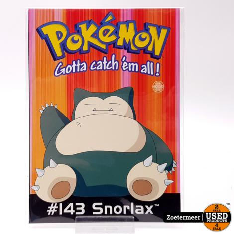 Pokémon originele verzamelkaarten (Snorlax, Ponyta, Pikachu, Ditto)