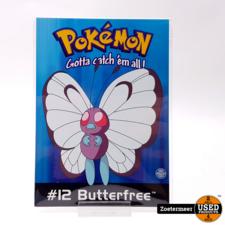 Pokémon originele verzamelkaarten (Butterfree, Raichu, Eevee, verzamelkaart)