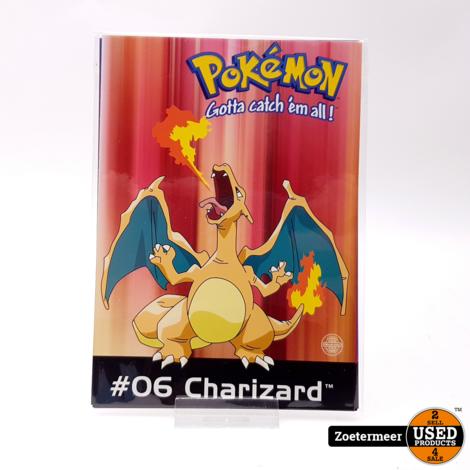 Pokémon originele verzamelkaarten (Charmeleon, Charizard, Pikachu, Mew)