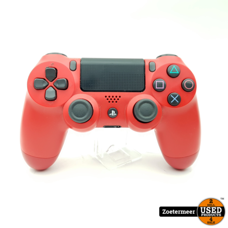 Playstation 4 Controller Rood