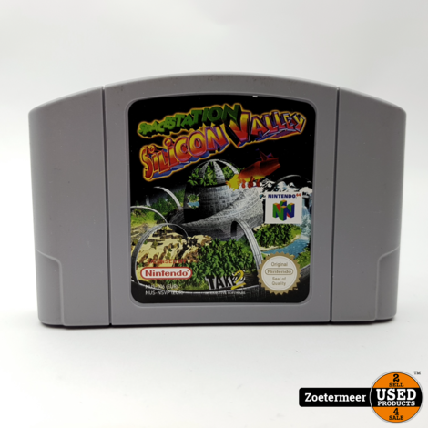 Spacestation Silicon Valley N64