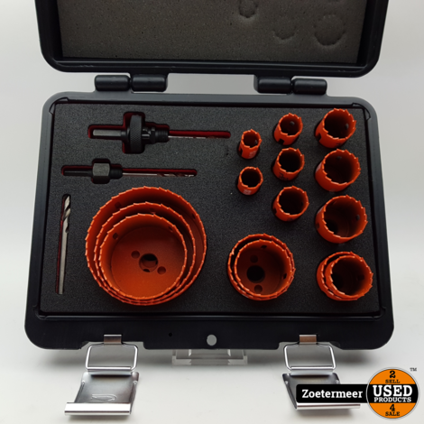 Bahco 3834-SET-153 18-delige Sandflex Gatenzagen set