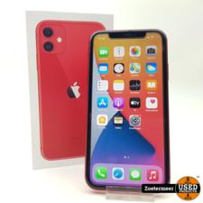 Apple Apple Iphone 11 Red 128GB Garantie tot 09-07-2022