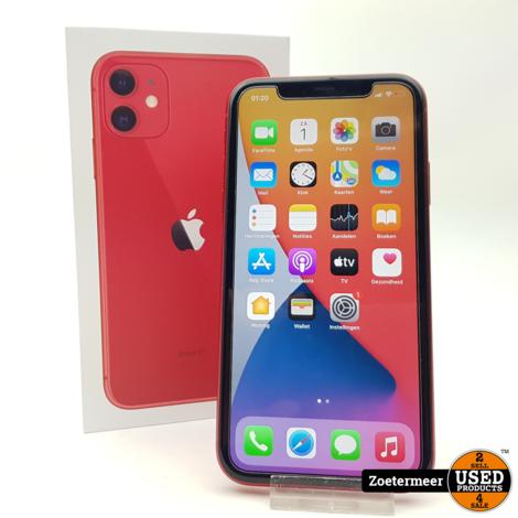 Apple Iphone 11 Red 128GB Garantie tot 09-07-2022