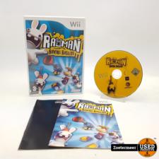 Nintendo Rayman raving rabbids Wii