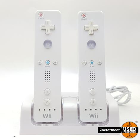 Nintendo Wii Controller set met accu's en lader