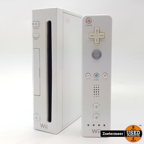Nintendo Wii Met 1 Controller