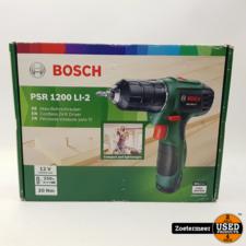 Bosch Bosch PSR 1200 Li accu boor NIEUW