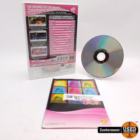 Singstar 80's Playstation 2
