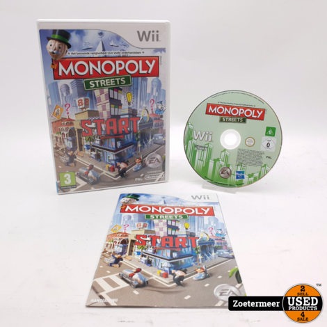 Monopoly Streets Start Wii