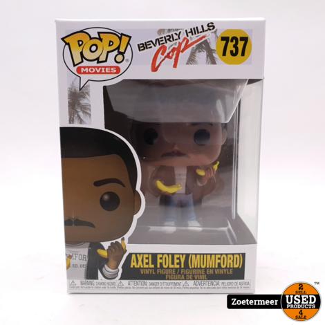 Funko POP! 737 Movies Beverly Hills Cop Axel Foley (Mumford)