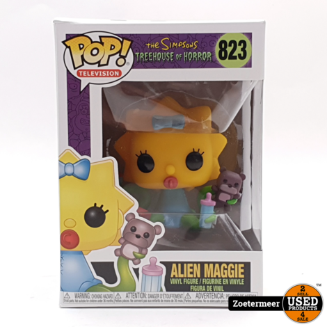 Funko POP! 823 Animation Simpsons S3 Alien Maggie