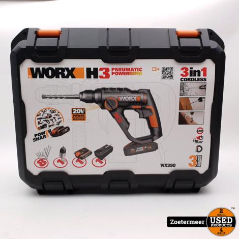Worx Klopboorhamer WX390