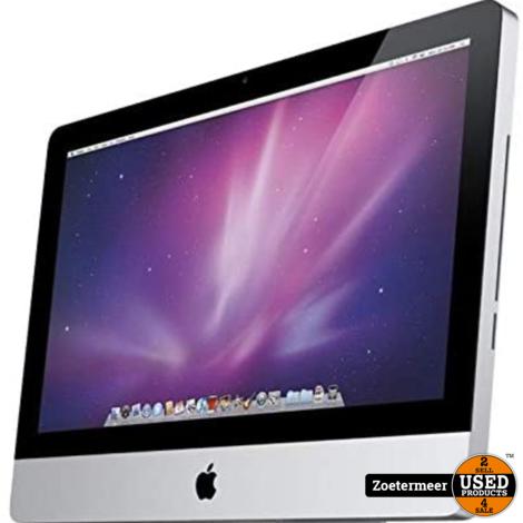 Apple iMac 21.5 inch 2011 || i5 || 4GB RAM || 500GB HDD opslag