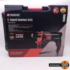 Parkside 2-speed Hammer Drill 1100W NIEUW