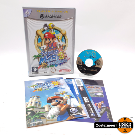 Super Mario Sunshine GameCube