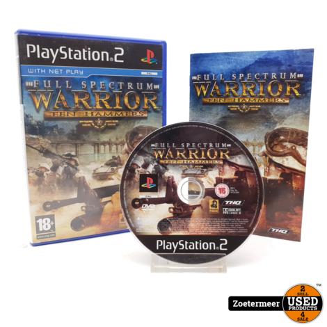 Full Spectrum Warrior Ten Hammers PS2