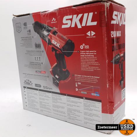 skil 20v max impact drill driver NIEUW