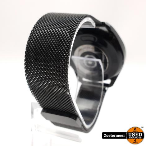 Samsung Galaxy Watch 3 45mm met Milanees bandje + Garantie tot: 31-01-2023