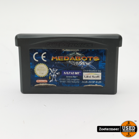 Medabots Gameboy Advance