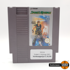 Snake's revenge NES