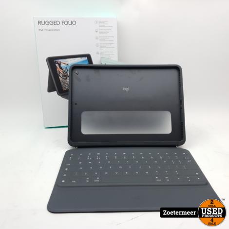 Logitech Rugged Folio (Apple iPad 2019 & 2020)