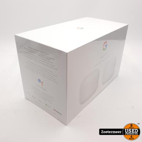 Google Nest WiFi Router + WiFi Point NIEUW
